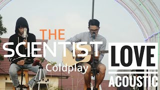 LIVE COVER THE SCIENTIST - COLDPLAY( AMRINO FEAT RADITYA SAMSONS)
