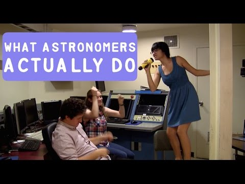 What Astronomers Actually Do