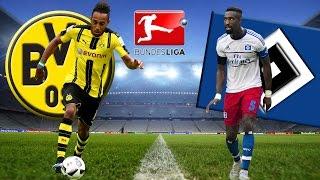 BORUSSIA DORTMUND vs HAMBURGER 3:0 SV BVB HSV Bundesliga 04.04.2017