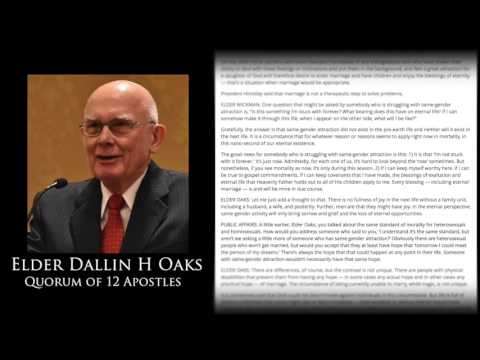 2006 Interview with Oaks and Wickman on Homosexuality