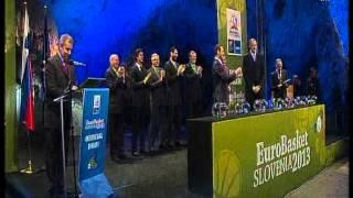 Eurobasket 2013 Slovenia Draw