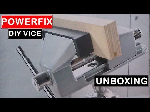 Redigitt 121 Lidl Powerfix Diy Vice Unboxing Model No