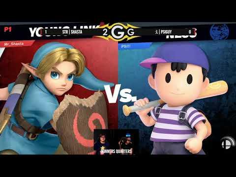 StR | Shasta (Young Link) Vs. :L | PSIguy (Ness) Winners Quarters - Smash Ultimate
