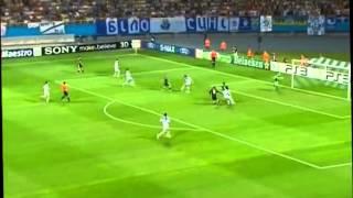 Динамо Украина -  Аякс Голландия.2 тайм. Лига Чемпионов 2010-2011.Раунд Плей Офф.Первый Матч.