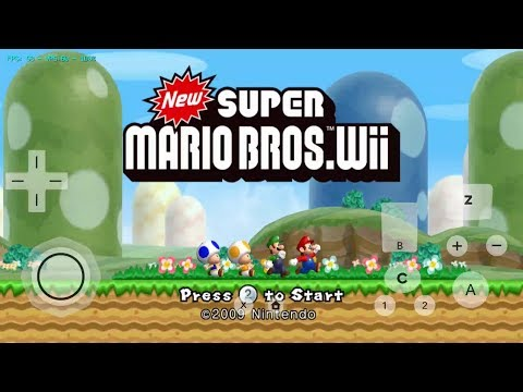 New Super Mario Wii Android Gameplay