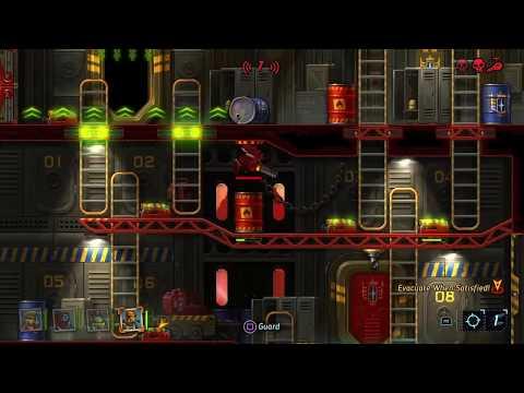 SteamWorld Heist - The Royalist Challenge Warehouse  