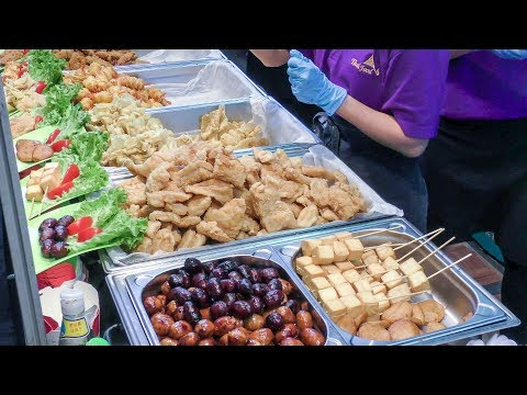 Street Food from China and Thailand Found in Italy. Far East Festival