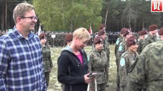 Centralny Zlot Klas Mundurowych Żagań 2014