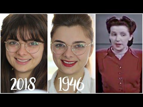 I Tried Following A 1940's Beauty Tutorial