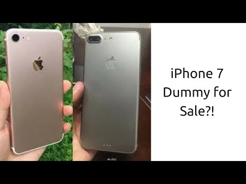 IPhone 7 Dummy For Sale?! | Unboxing Tech
