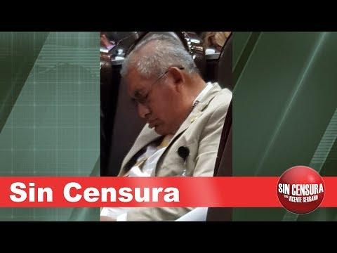 EN VIVO diputado se queda dormido. Senador busca sexo. Chumel Torres y EPN se enojan con SC9/26/2018