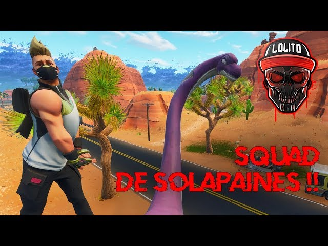 💀 ¡SQUAD DE SOLAPAINES! 💀 ~ FORTNITE