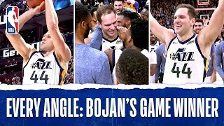 Every Angle Of Bojan Bogdanovic's Buzzer Beater | Nov. 8, 2019
