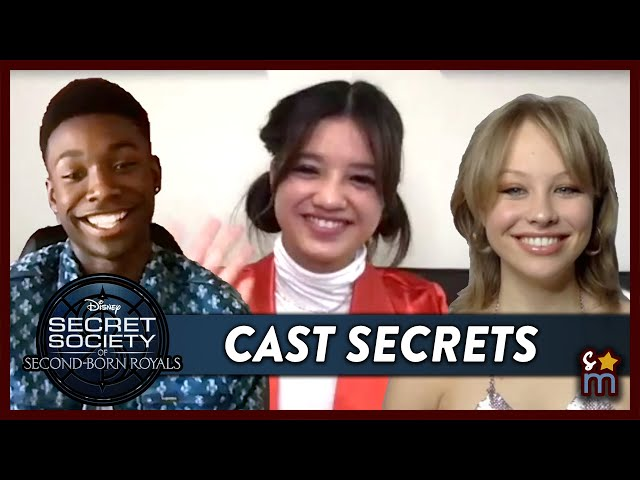 Cast Secrets with the SECRET SOCIETY OF SECOND-BORN ROYALS Cast