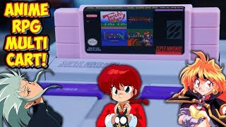 Old School Anime SNES Multi Cart! 4 in 1 English Translated RPG's!