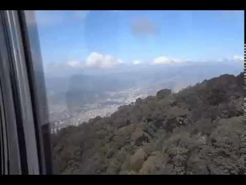 """Subida al parque """"El Ávila"""", Caracas-Venezuela"""
