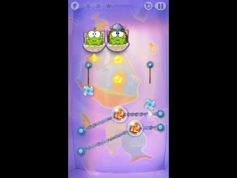 Cut The Rope Time Travel Level 1-9 Walkthrough | The Middle Ages Level 1-9 Walkthrough