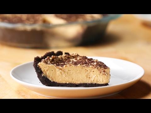Chocolate Cookie Crust Peanut Butter Pie