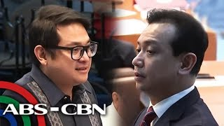 Infighting among senators continues on last day of 17th Congress   ANC