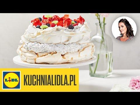 Wegański Tort Bezowy Kinga Paruzel Kuchnia Lidla