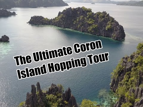 THE ULTIMATE ISLAND HOPPING TOUR: Coron, Philippines