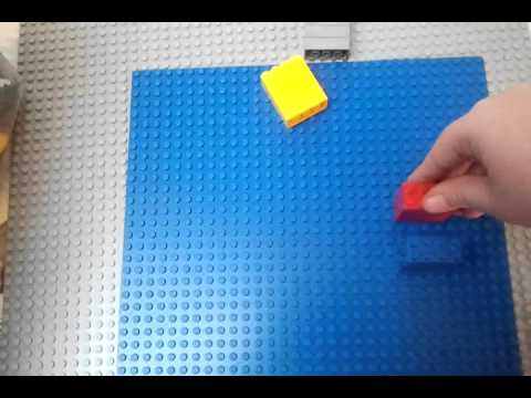 Comment Faire Une Porte Coulissante Lego  Youtube