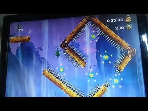 Rayman Legends The Dojo 60s 498 Daily extreme challenge 02/05/19