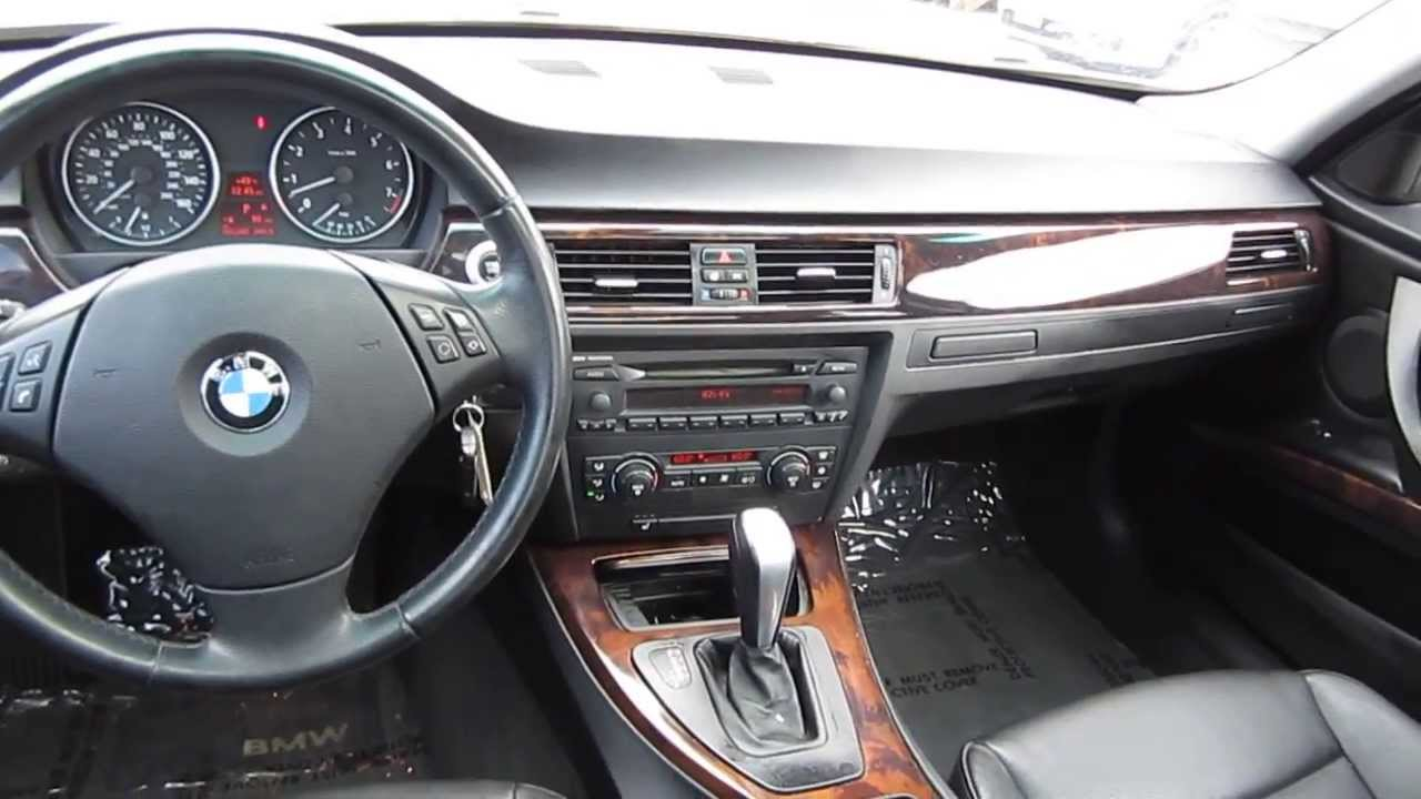 BMW I Dark Silver STOCK LT Interior YouTube - 2006 bmw 325i features