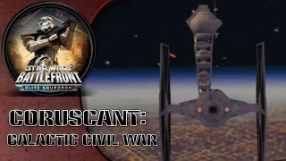 Star Wars Battlefront: Elite Squadron (PSP) HD Gameplay: Coruscant | Galactic Civil War