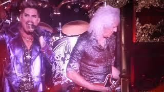 Queen+Adam Lambert - Intro+Now I'm Here  -  Stadium, Brisbane, Australia 13th February, 2020