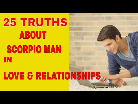 Scorpio Man | 25 Things To Know Scorpio In Love And Relationships