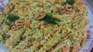 Havuç Kabak Tarator / yoğurtlu kabak salatası / çok kolay tarifler