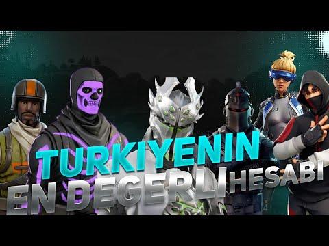Türkiye'nin En Nadir Hesabı.! ( Fortnite Dolabımda Ne Var? )