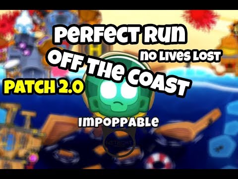 Bloons TD6 Off The Coast Impoppable Mode Perfect Run