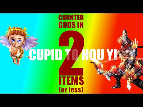 Smite: How to counter all gods in 2 items or less: C-H: Cupid - Hou Yi