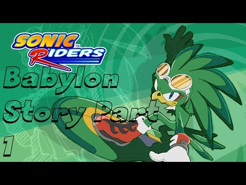 Sonic Riders - Babylon Rogues Story - #1