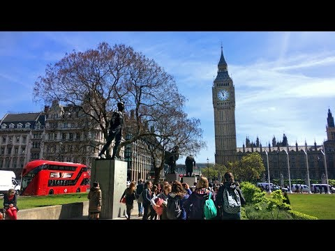 Whitehall to Parliament Square (incl. Downing Street) - Walking in London