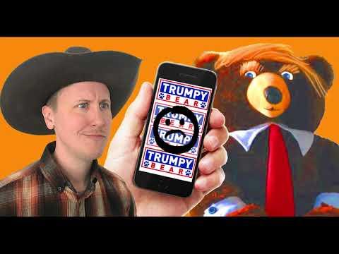 is trumpy bear real?