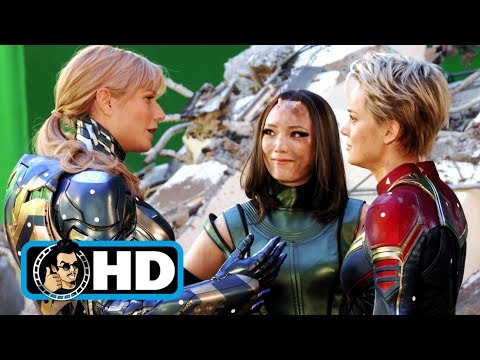 "AVENGERS: ENDGAME ""Marvel Women"" Blu-Ray Featurette NEW (2019)"