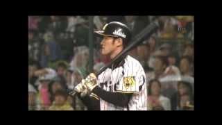 20120426 阪神 11回裏 平野 サヨナラヒット ヒーローインタビュー