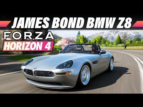 BMW Z8 (James Bond Edition) – FORZA HORIZON 4 Gameplay German | Lets Play 4K 60FPS Deutsch