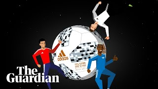 T-model to Telstar 18: the evolution of the World Cup ball