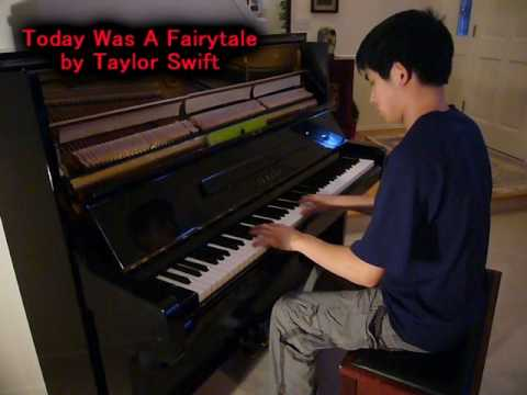 Taylor Swift - Today Was A Fairytale (Piano Cover) Music Video
