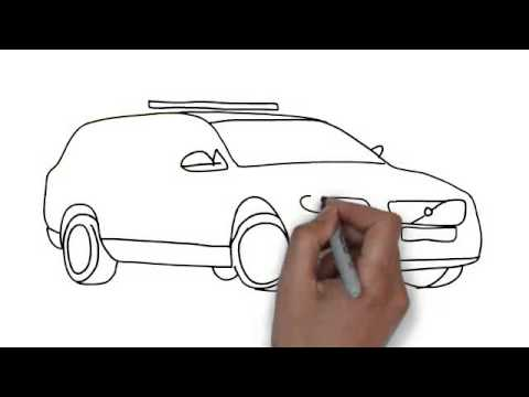 How To Draw Police Car - YouTube
