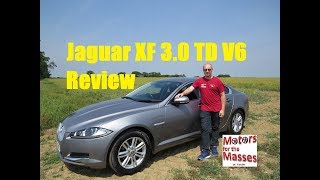 NEW Jaguar XF 3.0 TD V6 REVIEW Test Drive