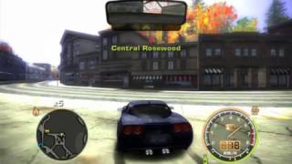 NFS Most Wanted: MW-Online test #1