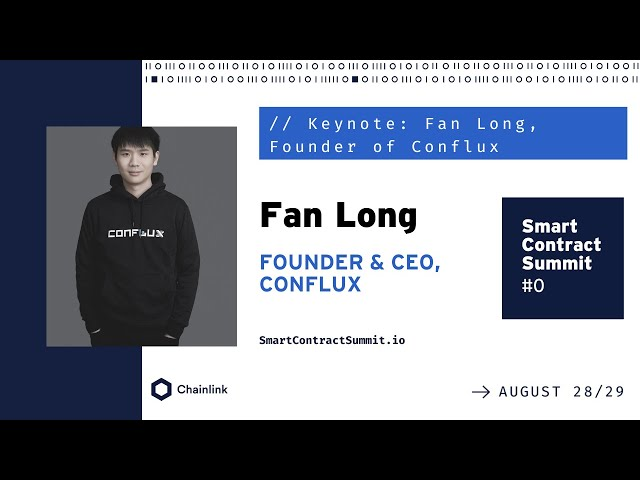 Keynote: Fan Long, Founder of Conflux