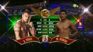 "Miguel ""Micky"" Román vs Daniel Ponce de León"