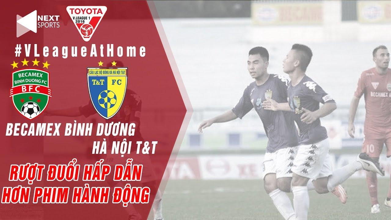 Becamex Bình Dương - Hà Nội T&T | Quang Hải lập cú đúp ở đại tiệc 9 bàn thắng | NEXT SPORTS
