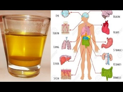 Golden water - Turmeric with honey and lemon - Health Benefits / Natural Master No.1